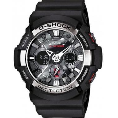 6e380cc42 3D náhled. Pánské hodinky CASIO G-SHOCK GA-200-1A