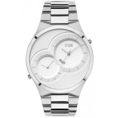 Pánské hodinky STORM Duodex - Silver 47268/S