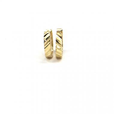Náušnice ze žlutého zlata Pattic AU 585/000 1,70 gr ARP095004Y