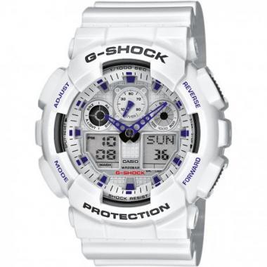 Pánské hodinky CASIO G-SHOCK GA-100A-7A2ER