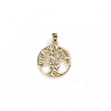 Přívěs ze žlutého zlata strom života Pattic AU 585/000 1,20 gr ARP041405Y