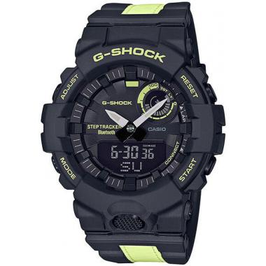 Pánské hodinky CASIO G-SHOCK G-Squad Phosphorescent Band GBA-800LU-1A1ER