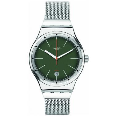 3D náhled. Pánské hodinky SWATCH Sistem Kaki YIS407GB 7ae3df46027
