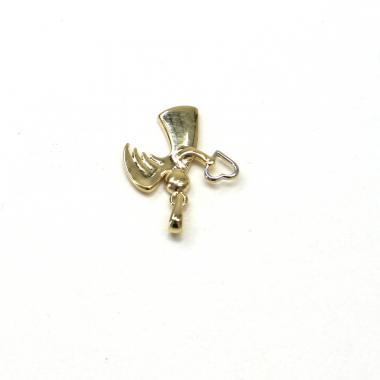 Přívěsek ze žlutého zlata anděl Pattic AU 585/000 GU00905
