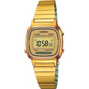 Dámské hodinky CASIO Collection Retro LA-670GA-9