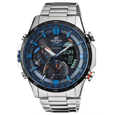 Pánské hodinky CASIO Edifice Twin Sensor ERA-300DB-1A2