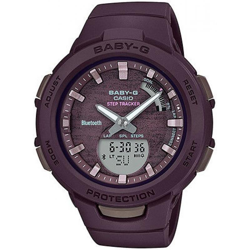 Dámské hodinky CASIO Activities in Natural Colors Series Baby-G BSA-B100AC-5AER