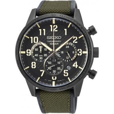 Pánské hodinky SEIKO Quartz Chronograph SSB369P1