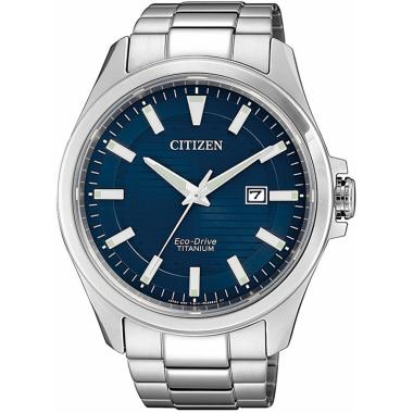 Pánské hodinky CITIZEN Super Titanium BM7470-84L