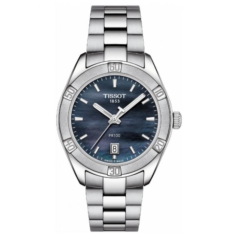 Dámské hodinky TISSOT PR100 Sport Chic T101.910.11.121.00