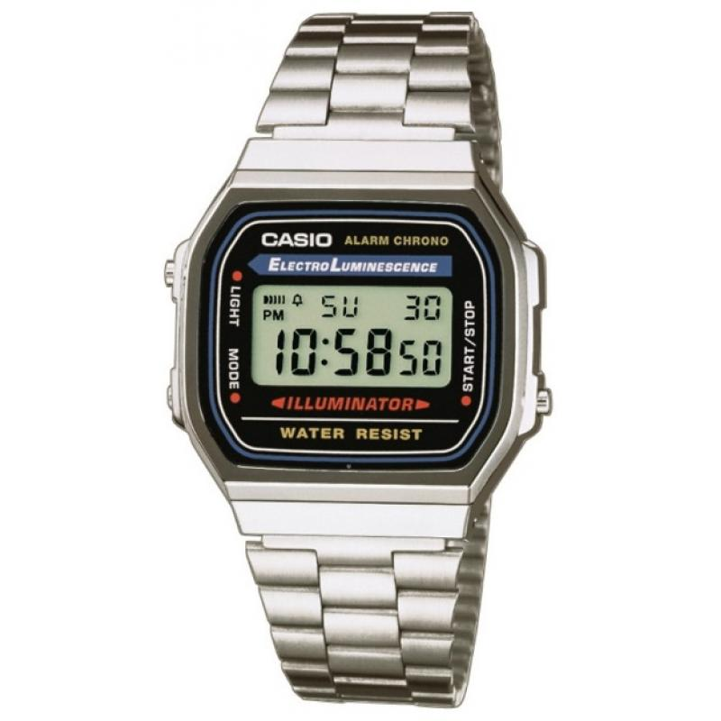 Hodinky CASIO Collection Retro A-168WA-1YES