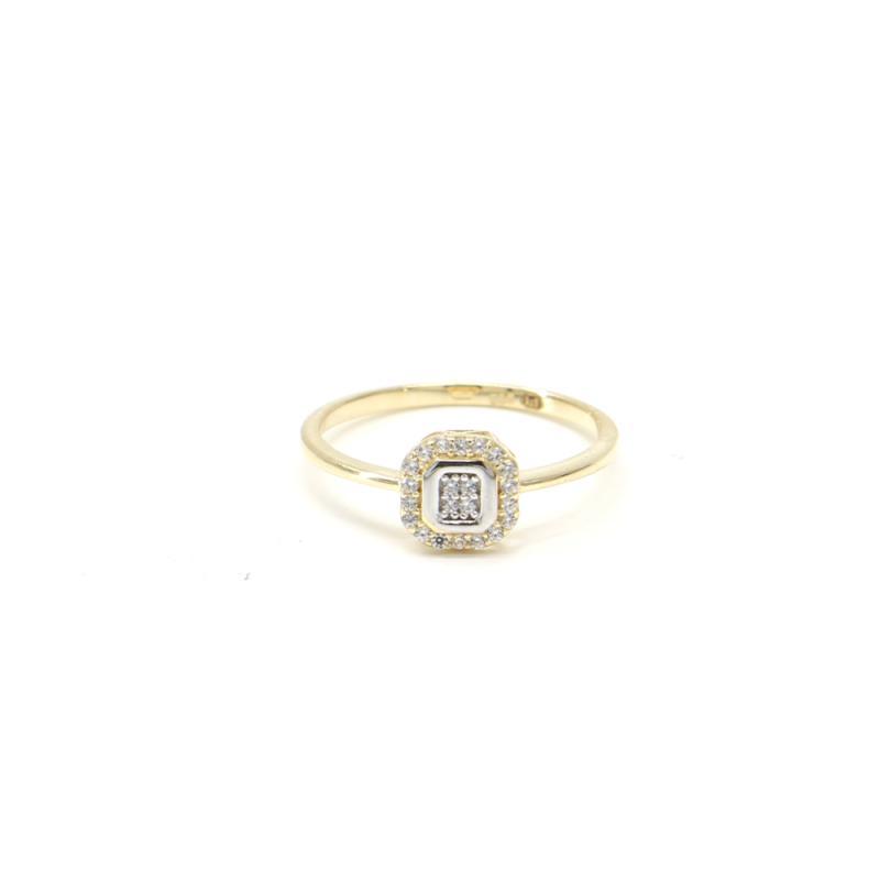 Zlatý prsten PATTIC AU 585/000 GU00501