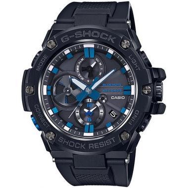 Pánské hodinky CASIO G-SHOCK G-Steel Blue Note Records GST-B100BNR-1AER
