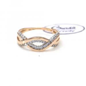 Prsten z červeného zlata  Pattic AU 585/000 2,45 gr, PR111150001-57