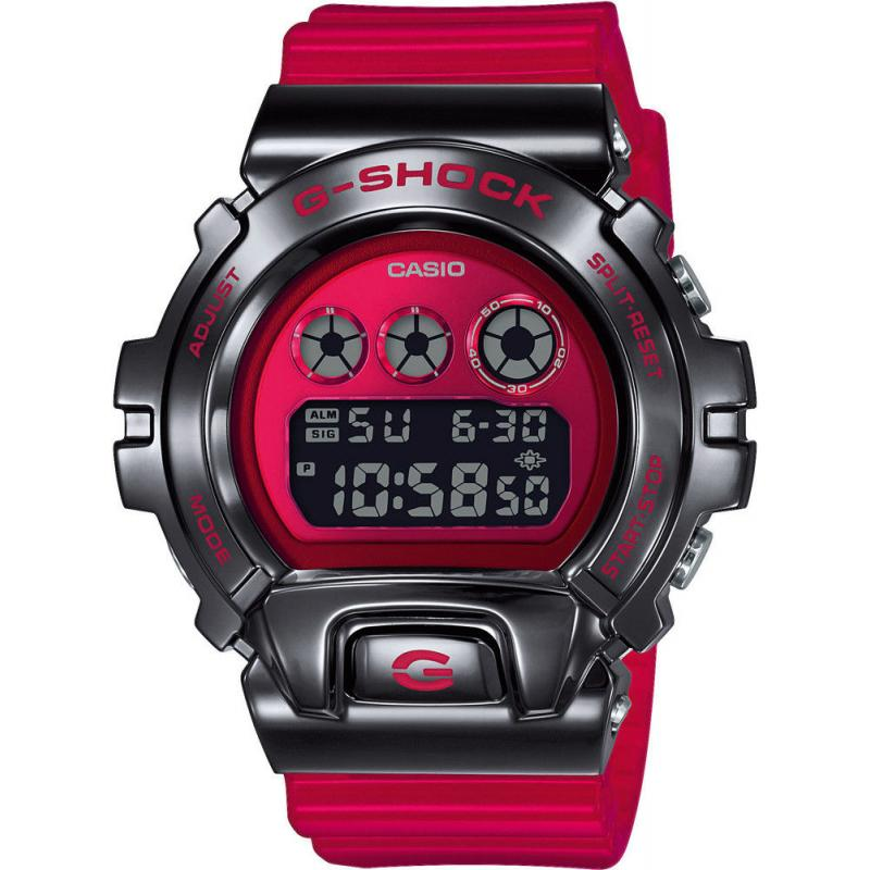 Pánské hodinky Casio G-SHOCK Original Metal Covered - DW-6900 Release 25th Anniversary Edition GM-6900B-4ER
