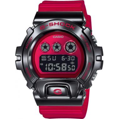 Pánské hodinky Casio G-SHOCK Original Metal Covered - DW-6900 Release 25th Anniversary Edition GM-6900B-4ER