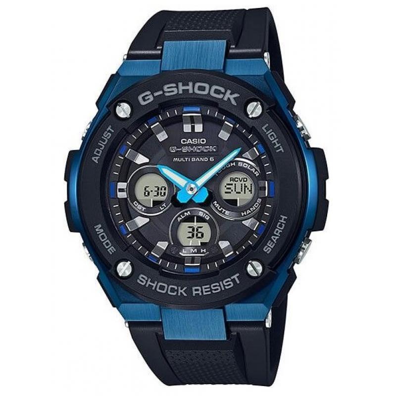 Pánské hodinky CASIO G-SHOCK G-Steel GST-W300G-1A2