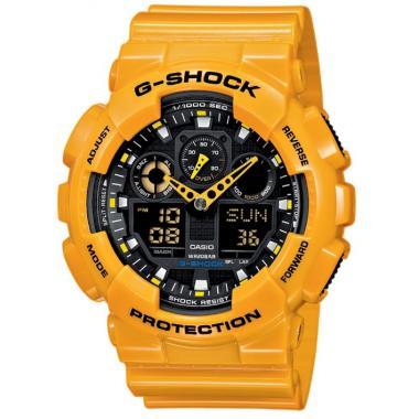 Pánské hodinky CASIO G-SHOCK GA-100A-9A