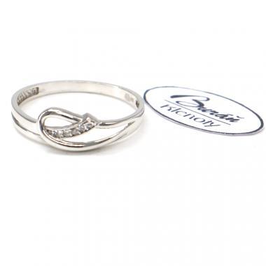 Prsten Pattic z bílého zlata AU 585/000 1,50 gr, BA00701-56