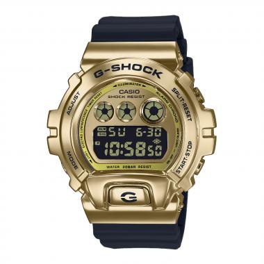 Pánské hodinky Casio G-Shock  Metal Covered - DW-6900 Release 25th Anniversary Edition  GM-6900G-9ER