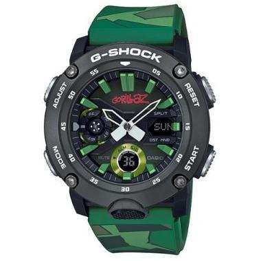 Pánské hodinky CASIO G-Shock x Gorillaz GA-2000GZ-3AER