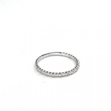 Prsten z bílého zlata se zirkony Pattic AU 585/000 1,40 gr GURDC2542020101-58