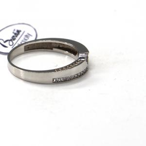 Prsten Pattic  z bílého zlata se zirkony AU 585/000 2,84 gr, BA08601