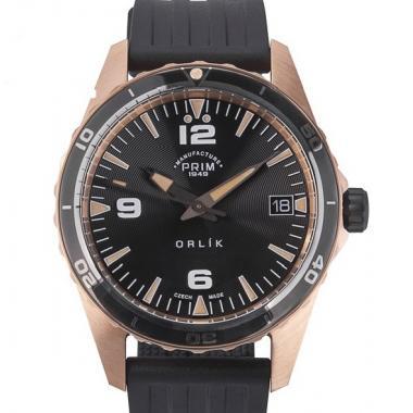 Pánské hodinky PRIM Orlík II Bronz 98-189-446-43-1