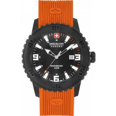 Pánské hodinky SWISS MILITARY Hanowa Twilight II Orange 4302.27.007.79