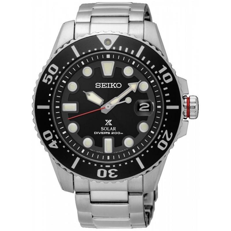 Pánské hodinky SEIKO Prospex Sea Solar Diver´s SNE437P1
