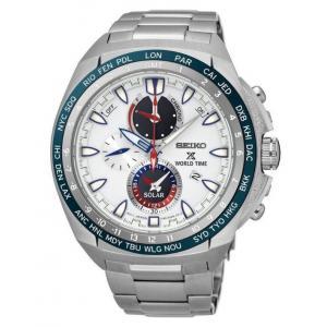 Pánské hodinky SEIKO Prospex Sea Solar World Time SSC485P1