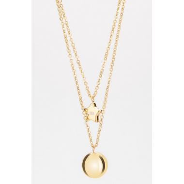 Náhrdelník STORM Carina Necklace - Gold 9980840/GD