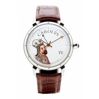 Pánské hodinky PRIM Karel IV. L.E. 95-208-340-80-1