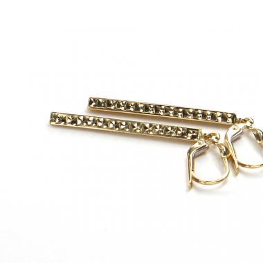 Zlaté náušnice se zirkonem Pattic AU 585/000 2,5g ARP087804