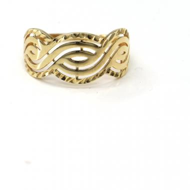 Prsten ze žlutého zlata Pattic AU 585/000 2,02 gr, PR121124901A