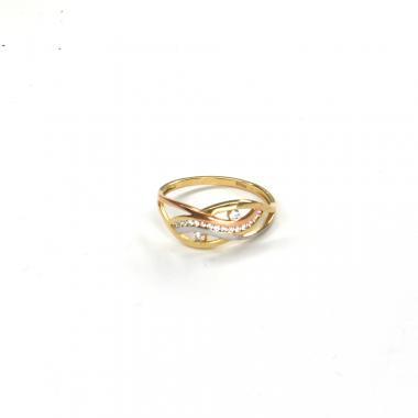 Prsten ze žlutého zlata Pattic AU 585/000 2,20 gr ARP567401-61