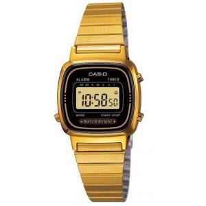 Dámské hodinky CASIO Collection Retro LA-670WEGD-1