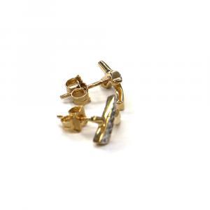 Zlaté náušnice Pattic AU 585/000 1,80 gr, PTG03704