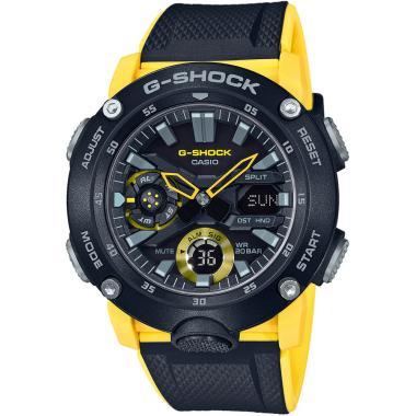 Pánské hodinky Casio G-Shock Original Carbon Core Guard GA-2000-1A9ER