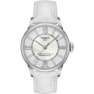 Dámské hodinky Tissot Chemin des Tourelles Powermatic 80 T099.207.16.116.00