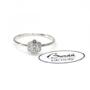 Prsten z bílého zlata Pattic AU 585/000 0,95gr, PR125112401