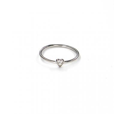Prsten z bílého zlata se zirkony Pattic AU 585/000 0,95 gr LMG08401W-50