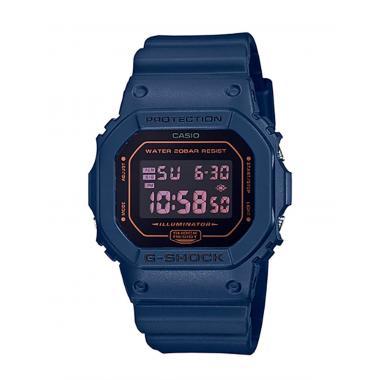 Pánské hodinky  Casio G-SHOCK Original Matte Black & Blue Series DW-5600BBM-2ER