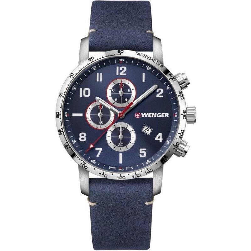 Pánské hodinky Wenger Attitude Quartz Chronograph 01.1543.109