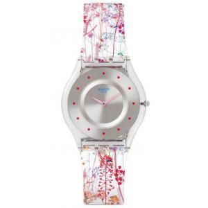 Dámské hodinky SWATCH Jardin Fleuri SFE102