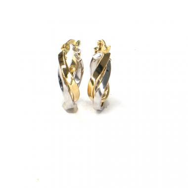 Náušnice ze žlutého zlata Pattic AU 585/000 1,5 gr ARP710204