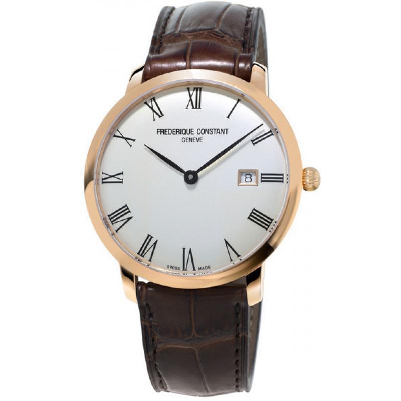 Pánské hodinky FREDERIQUE CONSTANT Slimline Automatic FC-306MR4S4