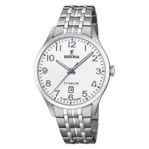 Pánské hodinky FESTINA Titanium Date 20466/1