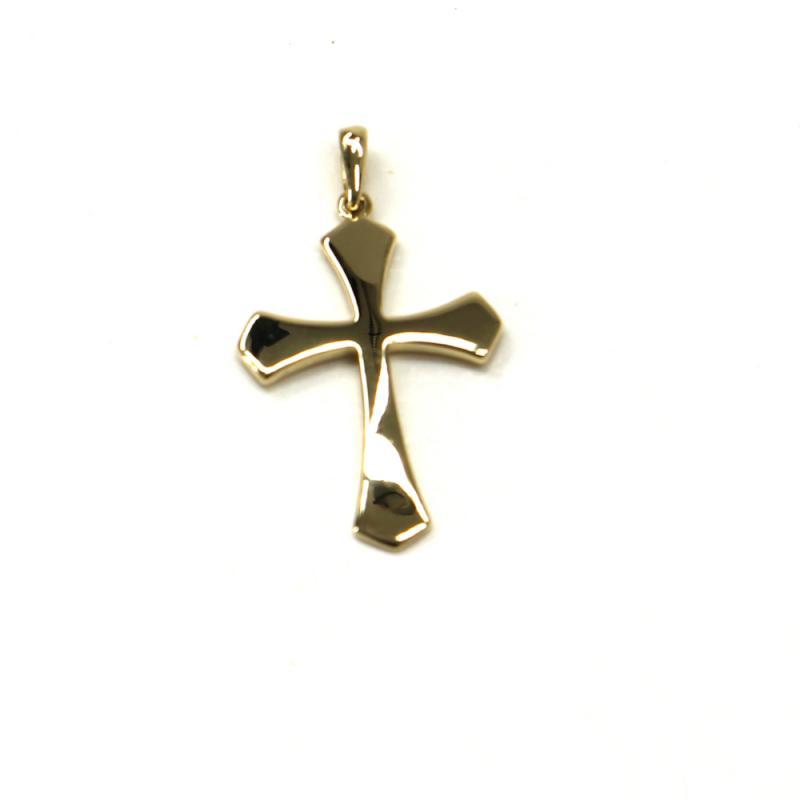 Zlatý přívěsek Pattic kříž 1,30 gr GU00905A