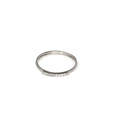 Prsten z bílého zlata se zirkony Pattic AU 585/000 0,80 gr LMG6701W-55